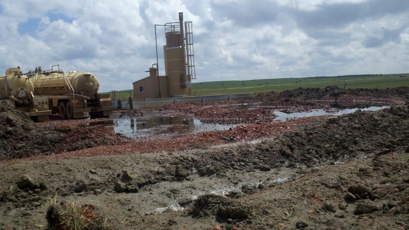 Work at the Skurupey Project Site