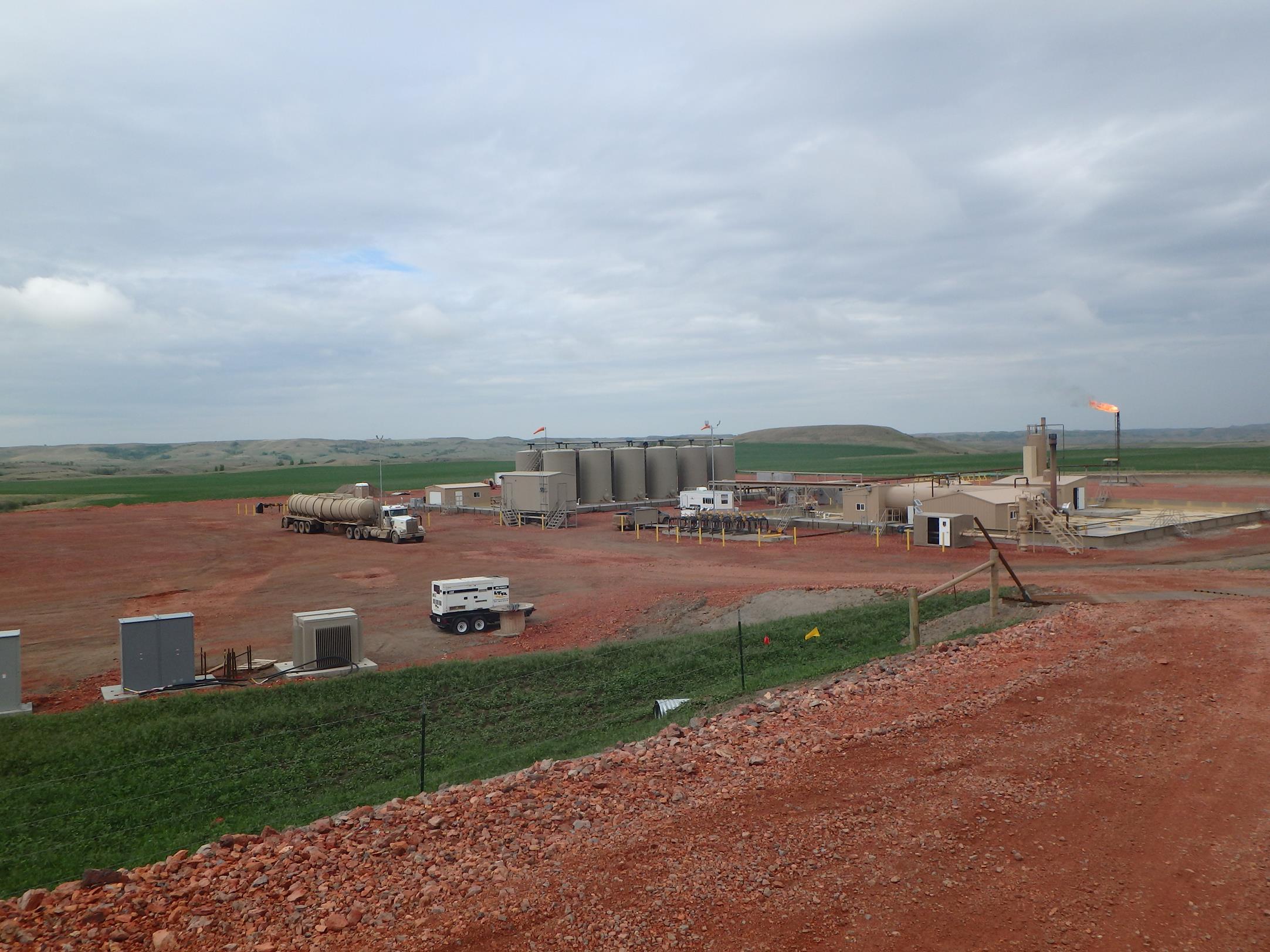 SPCC site inspection area