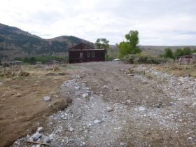 Outlet of Hangman's Gulch and Hotel Meade during Hydrologic Site Investigation
