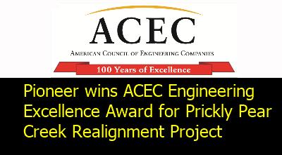 Pioneer wins Montana ACEC award