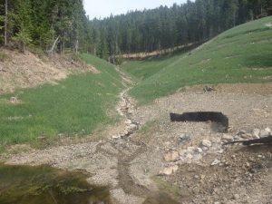 IC Rock Dumps: Lower Dumps Post-Construction View