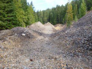 Lower Dumps Pre-Construction view