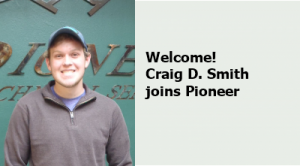 Craig Smith Joins Pioneer