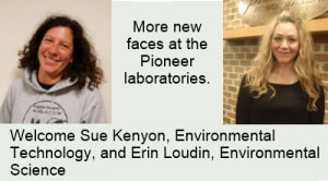 New faces at Pioneer